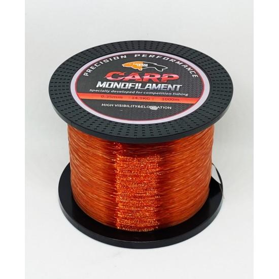Шаранско влакно CarpMax WINE RED 1000м.