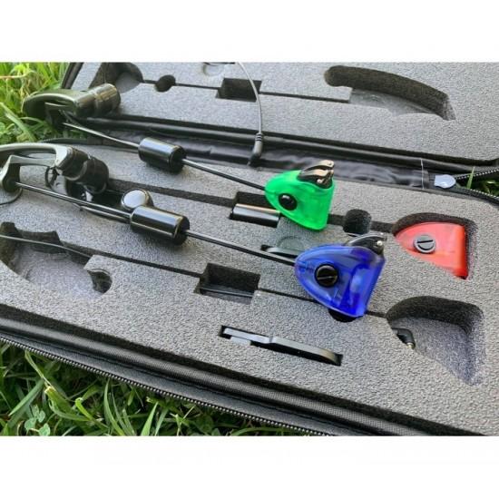 Комплект светещи обтегачи CarpMax Swingers Multicolour