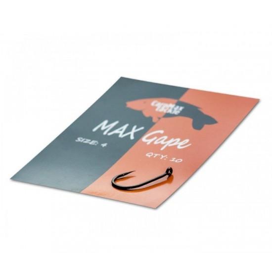 Шарански тефлонови куки CarpMax MAX GAPE