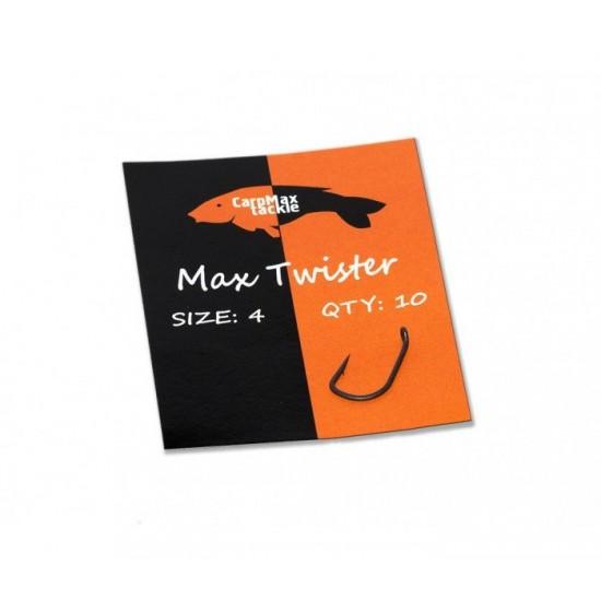 Шарански тефлонови куки CarpMax MAX TWISTER