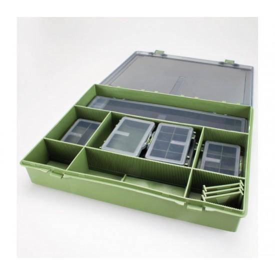 Кутия за шарански аксесоари CarpMax System Large