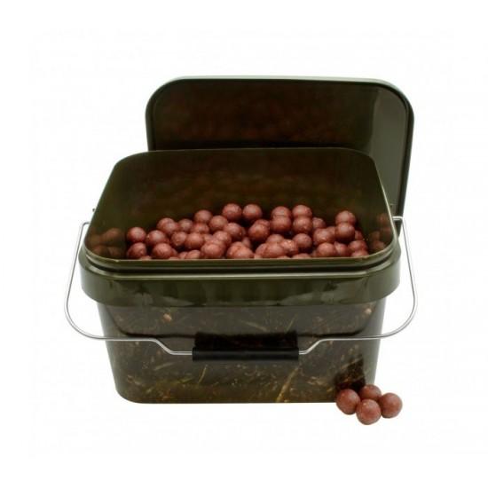 Протеинови топчета в кофа CarpMax 2,5кг Garlic & Robin Red