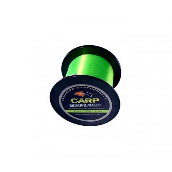 Шаранско влакно CarpMax FLUO GREEN 1000м.