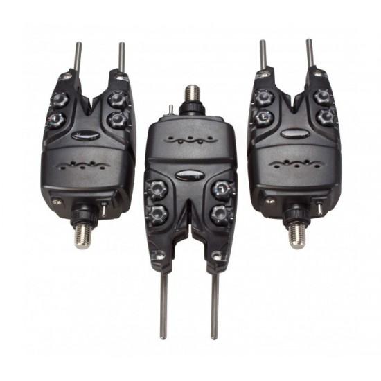Сигнализатори с аларма Carpmax Howler XT 3+1