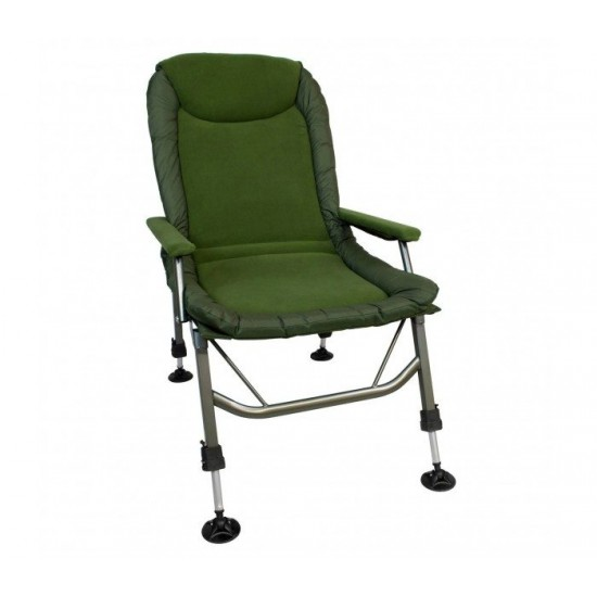Рибарски Стол Cyprinus Lazy Boy Hi-Leg Arm Chair