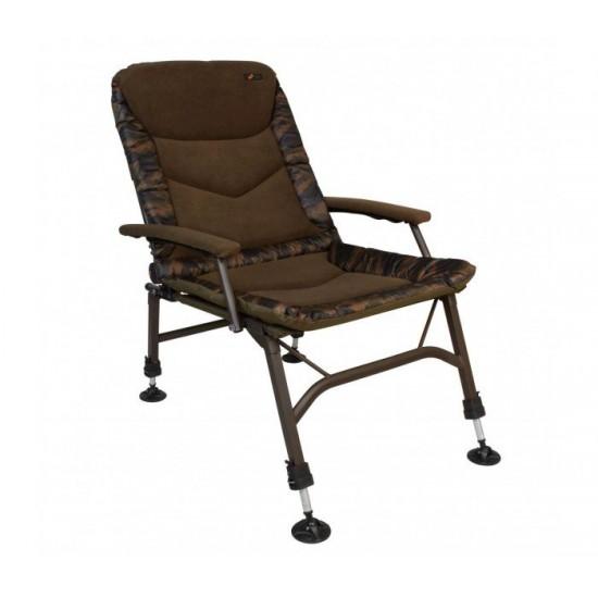 Рибарски Стол Cyprinus Steath Fat Boy Camou Chair