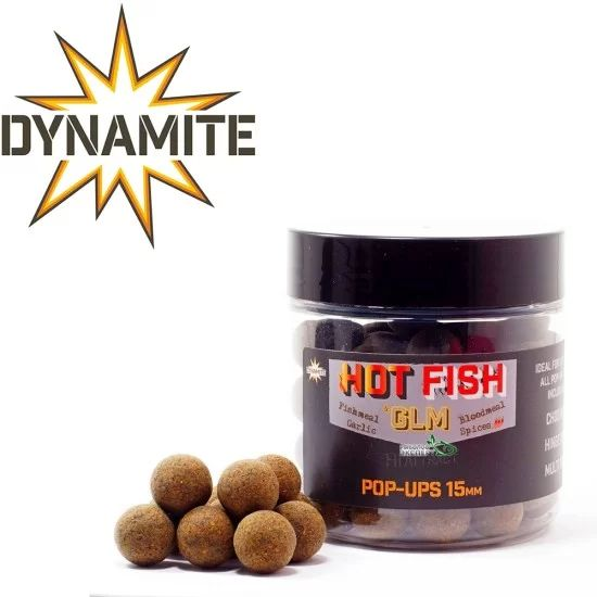 Dynamite Baits Hot Fish and GLM Pop Up