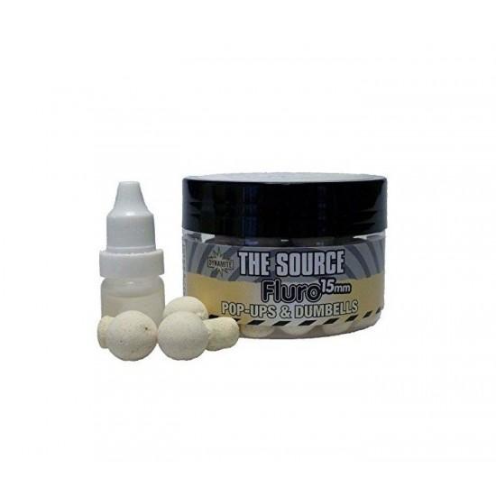 Dynamite Baits The Source Fluro White Pop Ups