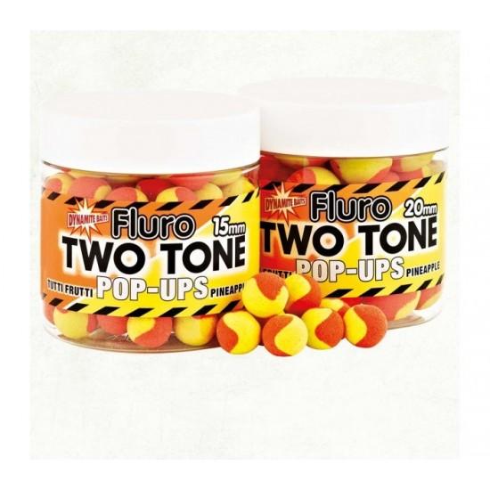 Dynamite Baits Two Tone Fluro Tutti Frutti and Pineapple
