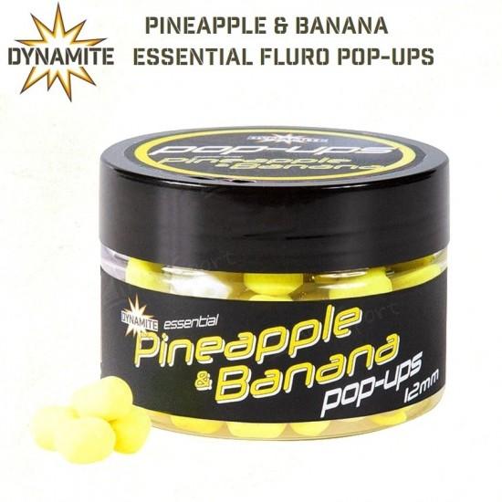 DYNAMITE BAITS Essential Fluro Pop-ups 15mm