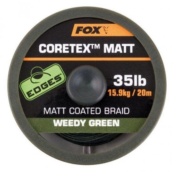Влакно за поводи FOX Coretex Matt - BROWN