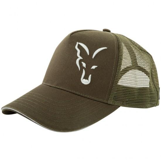 Шапка Fox Green Silver Trucker Cap