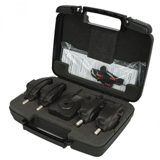 Fox Micron MX 4 Rod Alarm Set