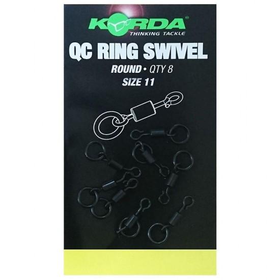 Korda QC Ring Swivel Round 11