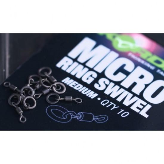 Вирбели KORDA Micro Rig Ring Swivels