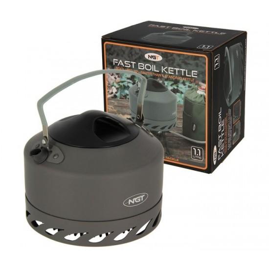 Алуминиев чайник NGT Fast Burn Kettle 1.1 литра