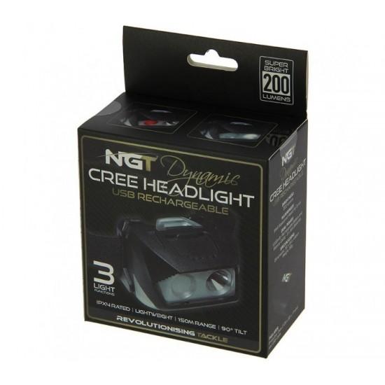 Челник NGT Dynamic Cree Light - 200 lumens