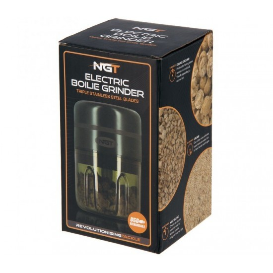 Електрическа трошачка NGT Electric Bait Grinder