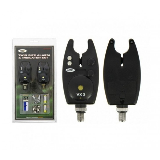 NGT VX2 Bite Alarm and Indicator Set
