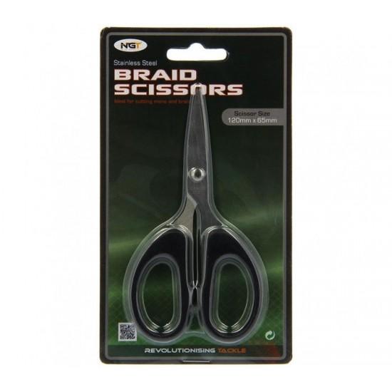 Ножица за влакно NGT Braid Scissors