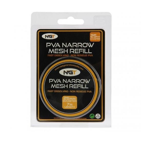 Пълнител за PVA NGT Narrow Refill - 7m PVA Mesh