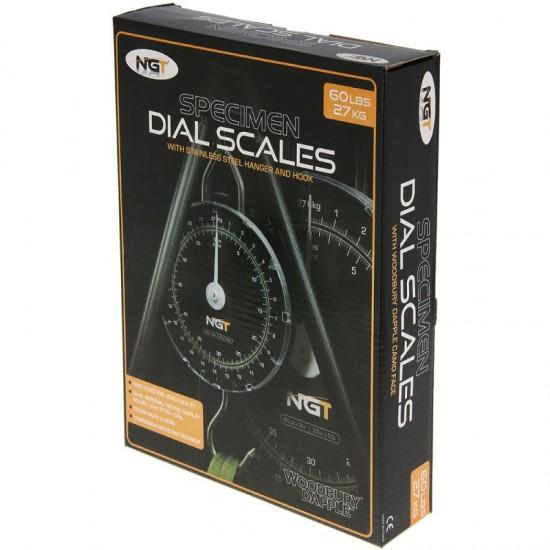 Кантар NGT Specimen Scales 27kg / 60lb