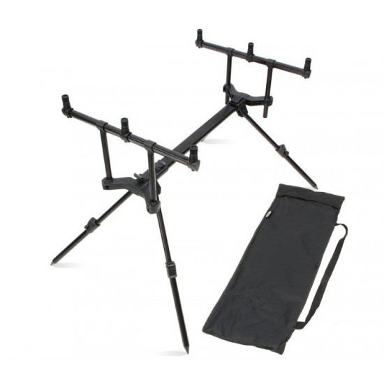 Шаранджийска стойка NGT Slider Pod - 3 Rod Pod