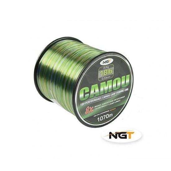 Шаранска корда NGT Camou Line
