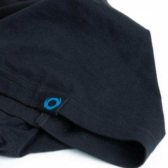 Тениска SHIMANO Tactical Wear Reglan Black T-Shirt