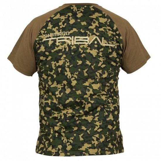 Тениска Shimano - Trench Wear Raglan Tricam T-Shirt