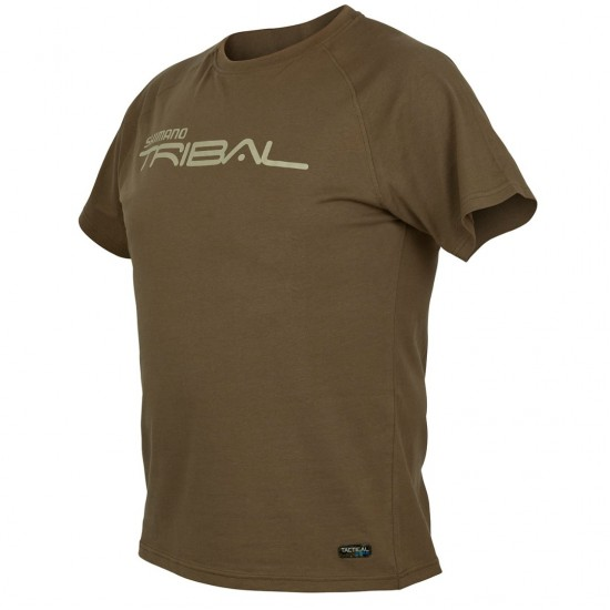 Тениска SHIMANO Tactical Wear Reglan Tan T-Shirt