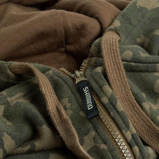 Суитчър SHIMANO Trench Wear Zipped Tricam Hoodie