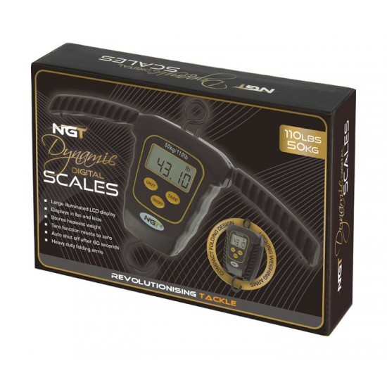 Кантар NGT Dynamic Digital Scale 50kg